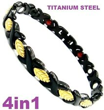 Titanium Bio Magnetic Energy Germanium Armband Power Bracelet Health lady's