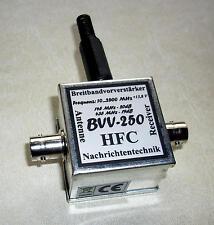 BVV-250 Breitbandvorverstärker 10...2500 MHz / BNC-Norm