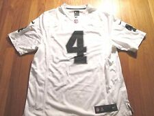 NIKE NFL ON FIELD OAKLAND RAIDERS DEREK CARR JERSEY SIZE L