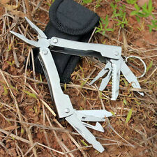 Stainless Steel Outdoor Survival Multi Tool Plier 9 In 1 Portable Compact Pocket