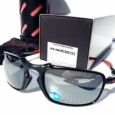NEW* Oakley BADMAN FERRARI w POLARIZED Black Iridium Sunglass 6020-07