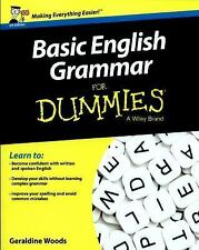 Basic English Grammar for Dummies® by Geraldine Woods (2016, Paperback)