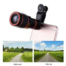 12X Zoom Telephoto Camera Phone Clip-on Telescope Lens for Smartphone Hot A1V3