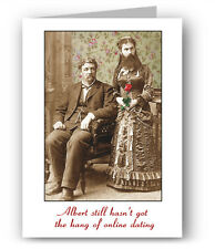 Online Dating Funny Greeting Card - Albert