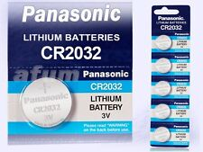 10x Panasonic Lithium Power CR2032/ DL2032/BR2032/ KCE2032/LM2032