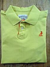 Mens (XL) AEROPOSTALE S/S 100% Cotton Yellow Polo Shirt