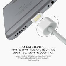 1M Magnetic Adapter Lightning USB Charge Data Cable Cord For iPhone iPad