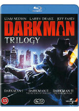 Darkman Trilogy NEW Cult Blu-Ray 3-Disc Set Liam Neeson Larry Drake Jeff Fahey