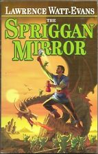 LAWRENCE WATT-EVANS The Spriggan Mirror. 1st ed. ETHSHAR series. SIGNED