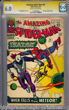 AMAZING SPIDER-MAN #36 CGC 6.0 SS STAN LEE 1ST APP LOOTER #1116936026 dns