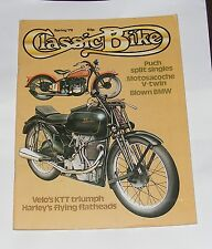 CLASSIC BIKE SPRING 1979 - PUCH SPLIT SINGLES/HARLEY'S FLYING FLATHEADS