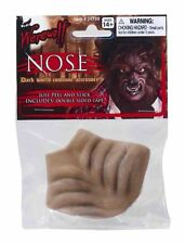 Brown Werewolf Nose Peel and Stick Halloween Costume Prop Accessory NEW