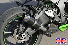 Kawasaki ZX6R 09-16 SP Engineering Carbon Stubby Moto GP Xtreme Exhaust