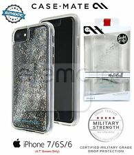 "Case Mate Naked Tough Waterfall Case for iPhone 7 iPhone 6 S 4.7"" SILVER DIAMOND"
