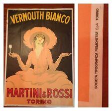 AFFICHE VERMOUTH MARTINI DUDOVICH manifesto vintage originale anni 50 60 poster