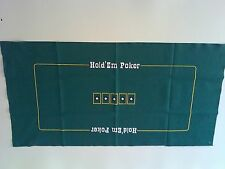 "36"" x 72"" Texas holdem poker layout felt"