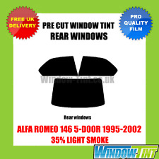 ALFA ROMEO 146 5-DOOR 1995-2002 35% LIGHT REAR PRE CUT WINDOW TINT