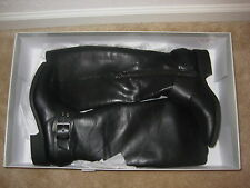 Jessica Simpson Shoes Size 6 M New Womens Beatricy Black Leather Riding Boots