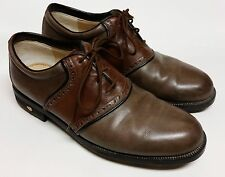Walter Genuin Golf Shoes fine hand crafted in Italian leather Size 8 1/2 Goretex