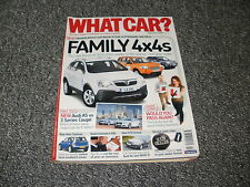 WHAT CAR ?   MAGAZINE  SEPTEMBER     2007      ENGLISH MONTHLY
