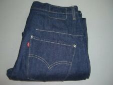 Mens LEVI'S Engineered Twisted Denim Jeans W32 L32 Dark Blue (32 REGULAR)