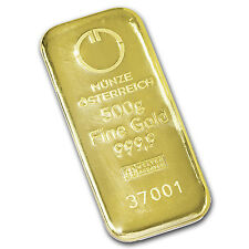 500 gram Gold Bar - Austrian Mint (Cast) - SKU #78386