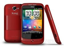 HTC Wildfire A3333 - Google G8 Red (Unlocked) , Android System Smartphone,WiFi