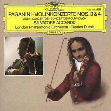 Paganini: Violin Concertos (Concerti Per Violino) N 3 & 4 / Accardo, Dutoit - CD