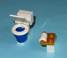 LEGO Custom Toilet Lid Moves Latrine Bathroom Lavatory WC Loo 10224 Water Closet