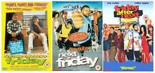 FRIDAY Trilogy Complete DVD Collection Next After 1+2+3 Original Ice Cube Tucker