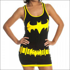 DC Comics Batman Batgirl Costume Juniors Women Girl Tank Top Dress Shirt S SMALL
