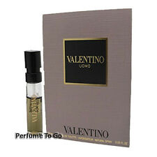 VALENTINO UOMO for MEN * NEW Fragrance EDT Travel Spray Carded Vial Sample