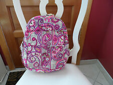 Vera Bradley  backpack in Paisley Meets Plaid pattern