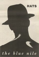 14/10/89Pgn43 Advert: 'hats' New Album From The Blue Nile Available Now 10x7
