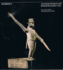 Sotheby's - American Furniture & Related Decorative Arts  Jan 28 1983