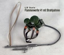 Toy Model WWII German FULL Metal Flammenwerfer 41 mit Strahlpatrone 1/6