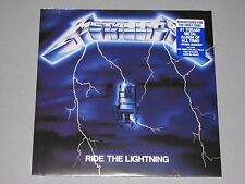 METALLICA  Ride the Lightning 180g LP 2016 Remaster New Sealed Vinyl