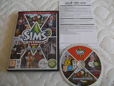 SIMS 3 UNIVERSITY LIFE LIMITED EDITON EXPANSION PACK PC-DVD SIMULATION FAST POST