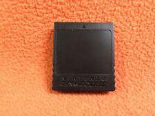 Official Nintendo GameCube 251 Block Storage DOL-014 Black Memory Card Super!