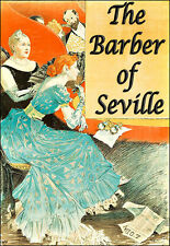 The Barber of Seville  Opera Theatre  Play Show  Deco  Poster Print