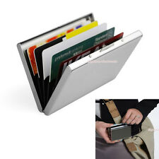 Ultra Thin Aluminum Metal Credit Card RFID Protector Wallet Holder for Men Women