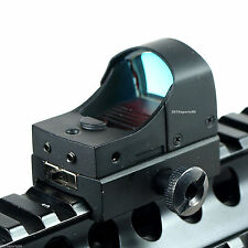 New Hunting Micro Reflex 3 MOA Red Dot Sight Rifle Scope w/Weaver/Picatinny T01