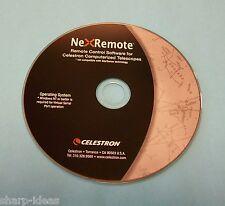 Celeston NexRemote Telescope Control Software For Computerized Telescopes - NEW