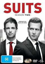 Suits : Season 2 (DVD, 2014, 4-Disc Set)