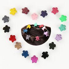 30 PCS Cute Kids Baby Mini Claw Hair Clips Girls Hairpins Mini Flower Clamp