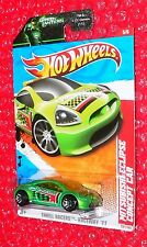 2011 Hot Wheels Mitsubishi Eclipse Concept Car #221 T9928-09GN Green Lantern