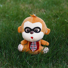 18cm lovely glasses monkey plush toys, plush toys, children's birthday gift