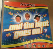 SCOOTER ...And the Beat Goes on, - 2 LP VINYL - 1° Album 1995  - SEALED   MINT