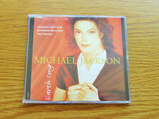 MICHAEL JACKSON Earth Song 1995 EU 3 TRACK CD SINGLE - DMC MEGAMIX