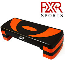 FXR SPORTS ADJUSTABLE 3 LEVEL AEROBIC STEPPER STEP FITNESS TRAINING YOGA GYM